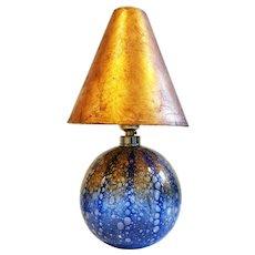 """Rare Ercole Barovier Two Colour """"Efeso"""" Lamp, Murano 1964"""