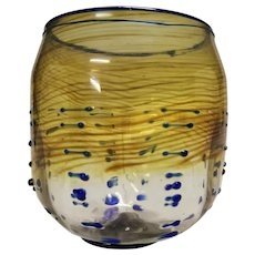"""Rare Dale Chihuly """"Tabac Basket"""" 1979, with Bonus Book and CD"""