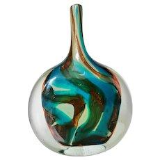 "Michael Harris for Mdina Large ""Axe Head"" Vase"