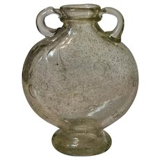 Flavio Poli Pulegoso Verde Vase, 1935 Seguso Vetri d'Arte (model 9127)
