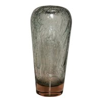 Murano Vase, Efeso and Sommerso Glass