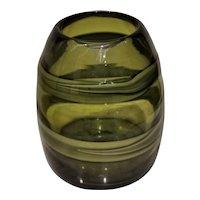 """Luciano Gaspari for Salviati """"Sasso"""" Vase 1960s Murano"""