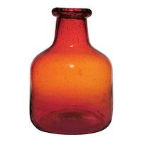 Eric Hoglund for Boda Large Bottle Vase c. 1960