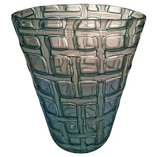 "Wonderful Ercole Barovier  ""Argo"" Vase, 1959 - Large Early Model"