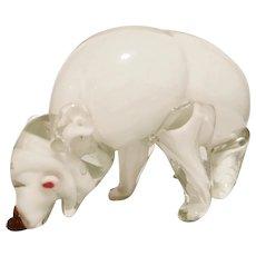 Large Murano Polar Bear, c. 1930s
