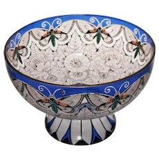 Absolutely Stunning Large Art Nouveau Centrepiece Bowl: Fachschule Steinschonau c. 1915