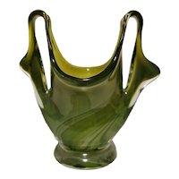 "Ercole Barovier ""Eugenio"" Vase, Midcentury Murano"