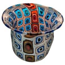 """Pollio Perelda """"Cattedrale"""" Vase for Fratelli Toso c.1957"""