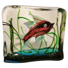Alfredo Barbini for Cenedese Aquarium - Nicely Detailed
