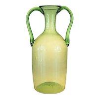 Vittorio Zecchin  Soffiati Handled Vase