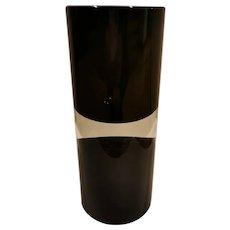 """Antonio Da Ros Rare """"Clessidra Cilindrica"""" Vase for Vetreria Gino Cenedese, 1964"""