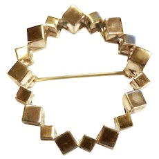 Rey Urban Brooch for Age Fausing Denmark Sterling Silver