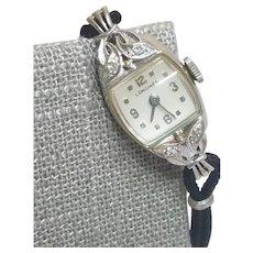 14k Longines Ladies Watch Cocktail Watch Diamond Watch