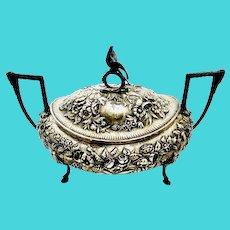Samuel Kirk & Son Coin Silver Soup Tureen 1800s