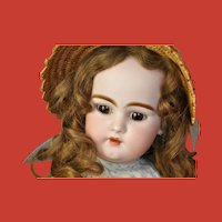 Most gorgeous Simon & Halbig 1079 10 DEP bisque and Composition Doll