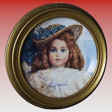 Franklin Mint Recommended Collectible Doll Plates