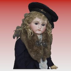 Faux Mink Collar for Doll