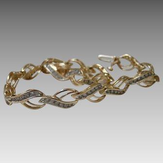 Diamond Tennis Bracelet 1.00 TCW - 14K 10.8 Grams