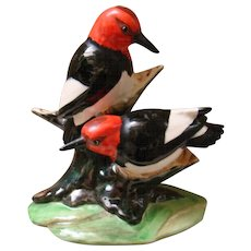 STANGL Pottery 3752 Woodpeckers figurine