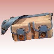 Authentic COACH Legacy Signature Shoulder Handbag F13102