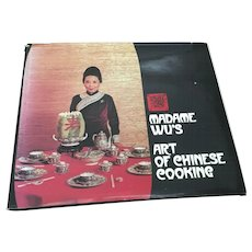 Madame Wu's Art of Chinese Cooking by Sylvia Wu SIGNED