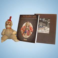 Antique Doll Books(2) _ Theriaults Auctions:  My Life As A Doll & Curtain Call