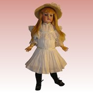 "Antique Kestner Girl - #168, 18"", Circa 1904 - big sale - final days on site."