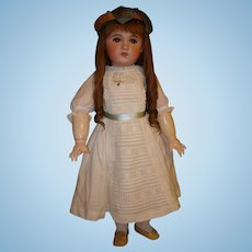 "Antique SFBJ Jumeau, Huge 30"", Open Mouth- Life Size Bebe, Circa 1907 -SUPER SALE PRICE!"