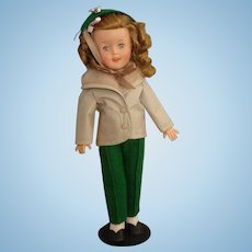 """Vintage Shirley Temple Doll, 12"""", -MINT-, circa 1957-rare outfit #9775"""