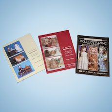 Antique Doll Clothing Books - 3 -Ackerman and Seeley