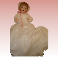 "Kestner Baby - Life Size 226  - 21"" Perfect & Extra Antique Outfit.  Watch for Red Tag Sale!"