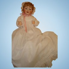 """Kestner Baby - Life Size 226  - 21"""" Perfect & Extra Antique Outfit.  Moving Sale!"""