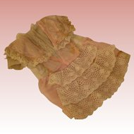 Antique Doll Dress, Factory original - MOVING SALE starting 1/19 - Great time to Purchase !!!