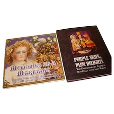 2 Antique Doll Books, Hardcover, Theriaults- Excellent condition - 2006.