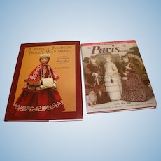 2 French Fashion Doll Books OOP - Reference and Pattern Guides.