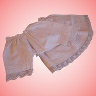 Antique Pantaloons and Slip - Matching set - Large.