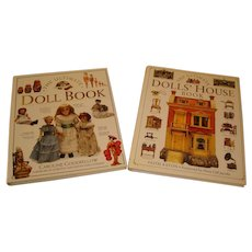 The Ultimate Doll Book Collection - Set of 2 Hardcover Doll/Doll House References.