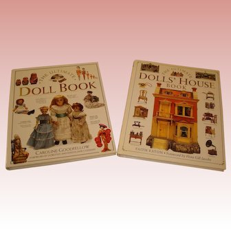 The Ultimate Doll Book Collection - Set of 2 Hardcover Doll/Doll House References
