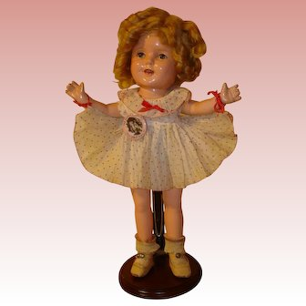 """Shirley Temple Composition 13"""" - Great Condition, Clear Eyes.  MOVING SALE starting 1/19 - Great time to Purchase !!!"""