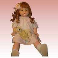 "Patsy Mae by Effanbee - 30"" Composition Doll.  MOVING SALE starting 1/19 - Great time to Purchase !!!"