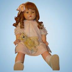 """Patsy Mae by Effanbee - 30"""" Composition Doll."""