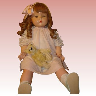 """Patsy Mae by Effanbee - 30"""" Composition Doll.  MOVING SALE starting 1/19 - Great time to Purchase !!!"""
