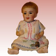 "SFBJ Laughing  Baby #236  Antique - just 10"" - Size 2 !"