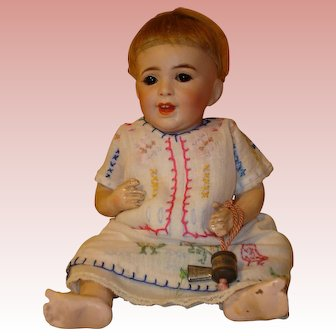 """SFBJ Laughing  Baby #236  Antique - just 10"""" - Size 2 !"""