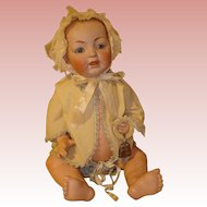 "Kestner Antique Baby - 17""  All Original Clothing."