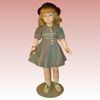 """American Child by Effanbee 19"""" - Dewees Cochran Composition Doll Circa 1936-39.  MOVING SALE starting 1/19 - Great time to Purchase !!!"""