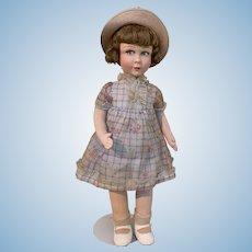 "Raynal, Paris Cloth Doll 19"" - circa 1930"