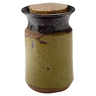 William Bill Creitz Ceramic Canister, circa 1970's