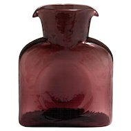 Vintage Blenko Double Spout Carafe Decanter