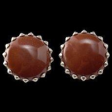 Vintage Mid Century Modernist Earrings